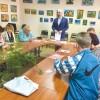 Презентація виставки дитячих творчих робіт «Україна — Сонячна країна»