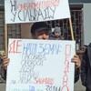 У Дударкові сільський голова порвав плакат з написом «Слава Героям Майдану!»