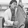 У Борисполі побував видатний кобзар Василь Лютий