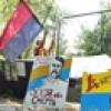 «Майданівці» переїхали на Труханів острів