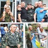 Бориспільці провели на вітчизняну війну своїх земляків