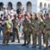 У Києві зустріли та привітали з річницею бійців батальйону «Січ», які повернулися з передової російсько-української війни